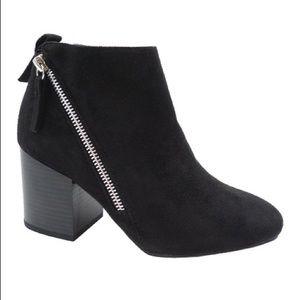 Wild Diva Black Ankle Booties